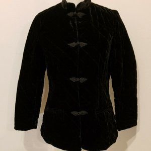 Coldwater Creek Size PS Black Jacket Coat
